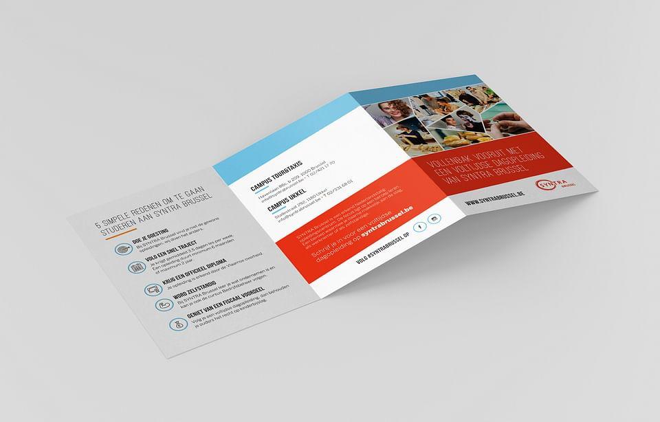 Syntra Brussel: flyers, brochures,...