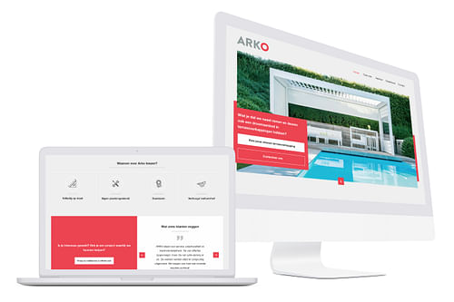 Website creatie/Online marketing: Arko - Website Creatie
