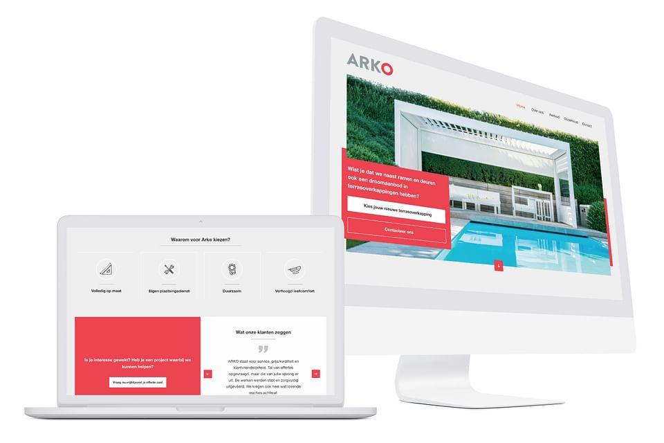 Website creatie/Online marketing: Arko
