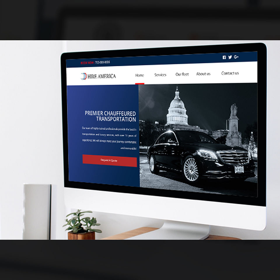 Website Creation for Luxury Rental Car Business