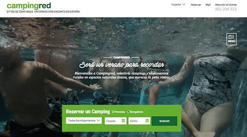 Marketing Strategy Campingred - Estrategia digital