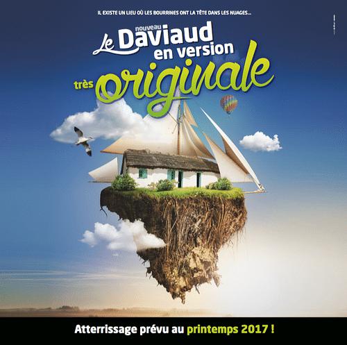 DAVIAUD - Campagne HORS les murs - Publicité
