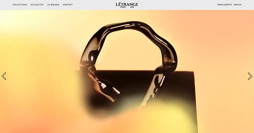 E-shop Maroquinerie de luxe - Création de site internet