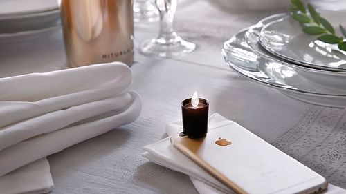Rituals - Smartphone Candle Light - Reclame