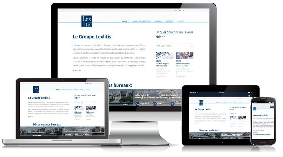 Création de site internet - Lexlitis
