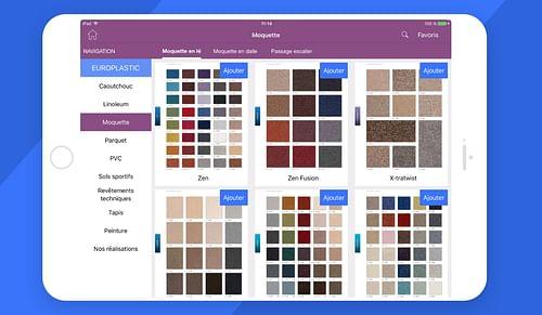LTI Europlastic - Application mobile