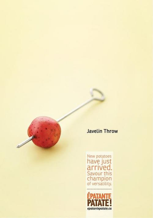 Javelin Throw - Advertising