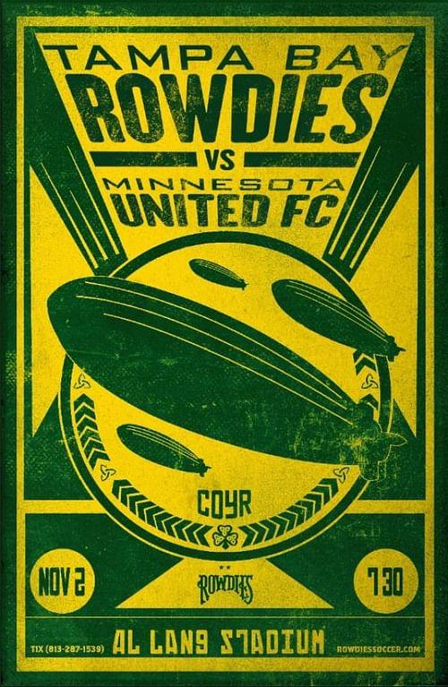 Rowdies vs. Minnesota United FC - Advertising