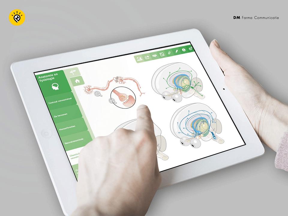 Range of health apps for Medical Publisher