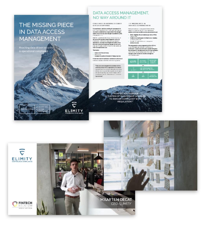 Video, brochure en marketing