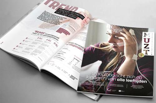 Infozine voor het UZ Brussel - Design & graphisme