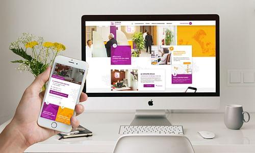 Site internet, application mobile et vidéo Biolia - Application mobile