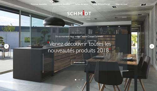 Home Design Schmidt : SEO par Bee4 - Référencement naturel