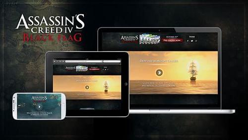 Assassin's Creed IV Black Flag – Interactive Horizon Trailer - Advertising