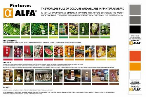 COLOURS OF THE WORLD - Advertising