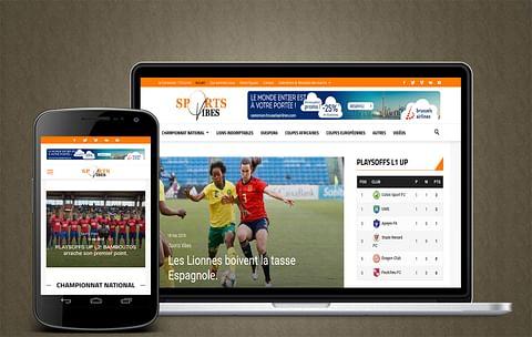 Site d'actualités sportive
