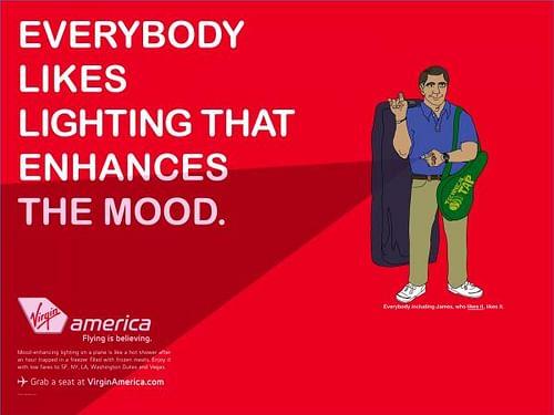 Virgin America 2 - Advertising