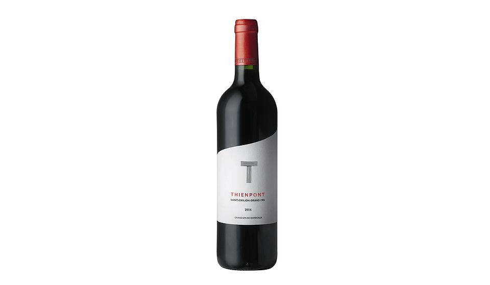 Wine label design for Thienpont