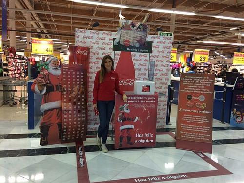 Campaña de Navidad de Coca Cola - Eventos