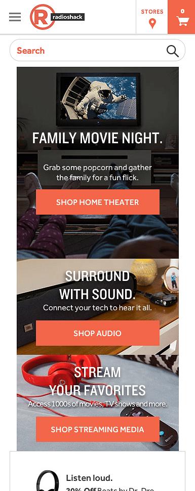 RadioShack's Creative Partner