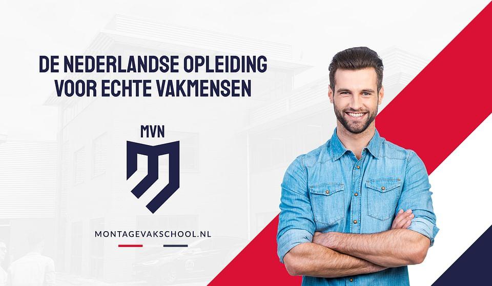 Montage Vakschool Nederland   Branding + strategie