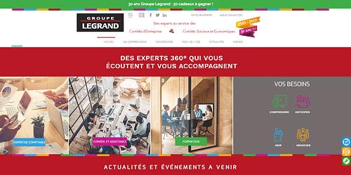 Site complet Expert-comptable dédié aux CE / CSE - Création de site internet
