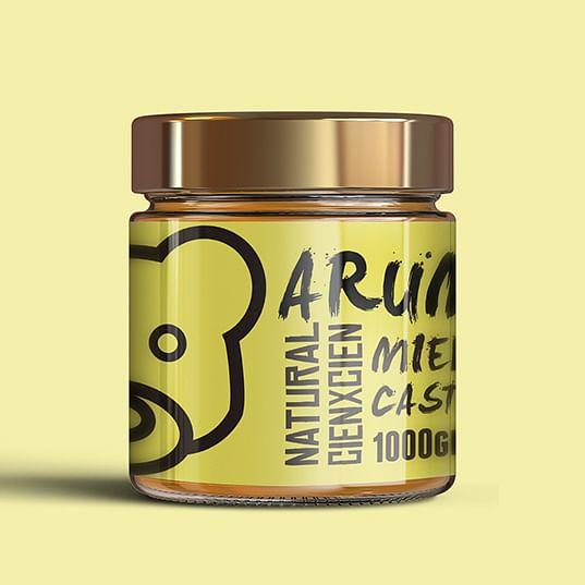 Packaging para empresa de miel