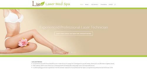 Digital Marketing For A MedSpa Clinic In USA - Website Creation