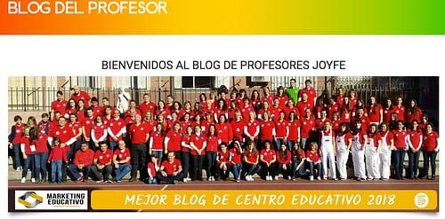 Blog del Profesor del Colegio Joyfe - Estrategia digital