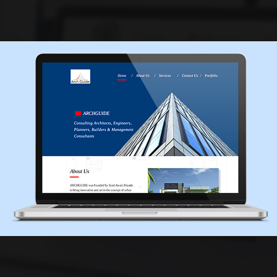Website Creation for an Architect Firm