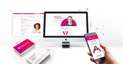 Branding et digital Stratégie - Création de site internet