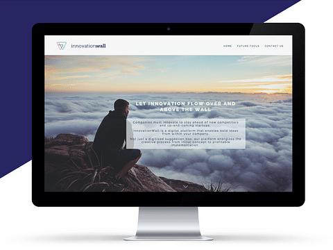 Innovation Wall | branding & website