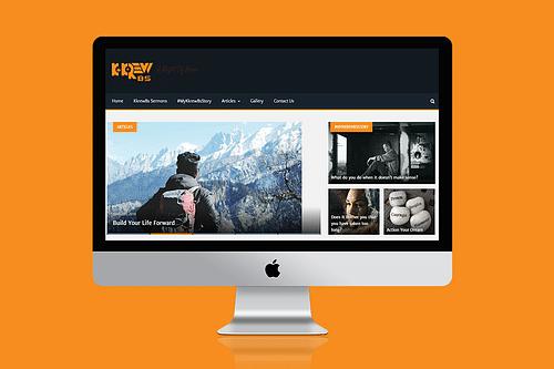 Kkrew Bible Study Blog - Website Creation