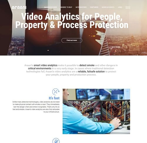Website copy for Araani nv - Content Strategy