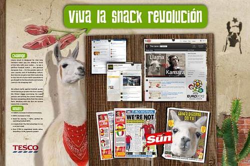 LLAMA LAUNCH - Publicidad