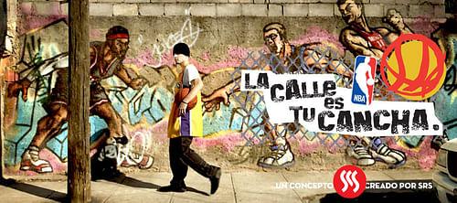 NBA: La calle es tu cancha - Advertising