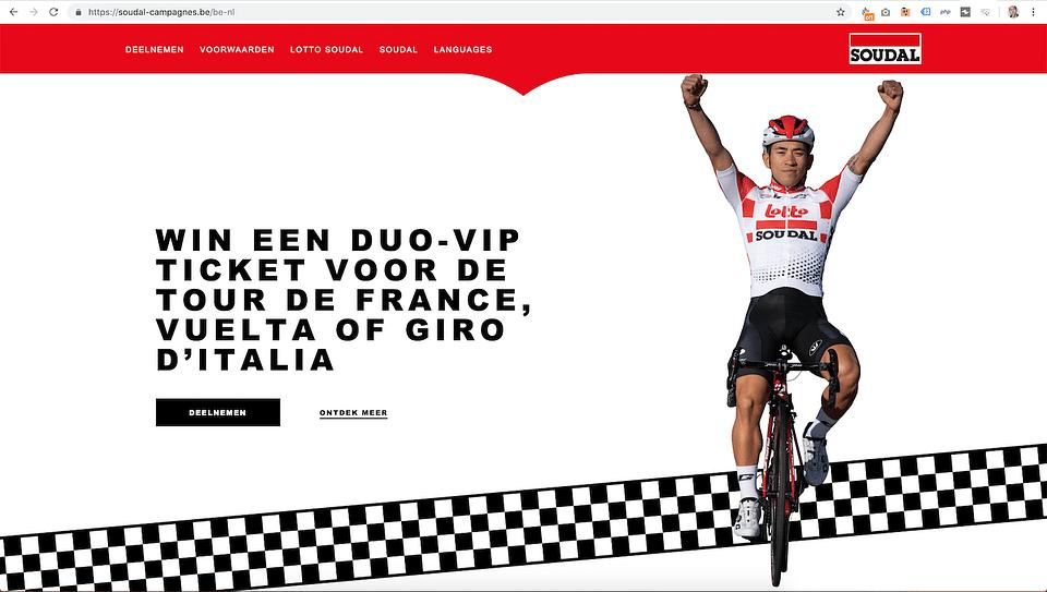 VIP campagnewebsite