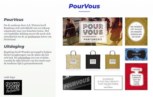 POUR VOUS - Branding & Positionering