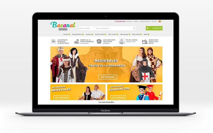 Tienda online líder en el mercado