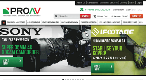 High-performance Magento e-commerce site - Website Creation