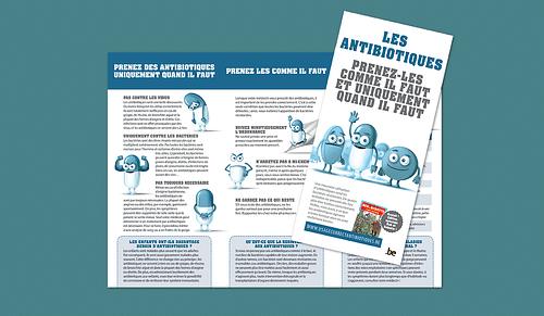 """Antibiotics """"Educational Campaign"""" - Publicité"""