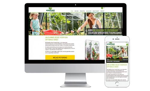 Informatieve website agrofino.be - Branding & Positionering