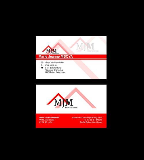 Branding et Design MJM Immobilier - Application mobile