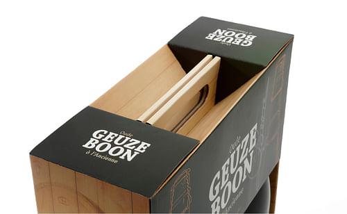 Packaging Oude Geuze Boon - Branding & Positionering