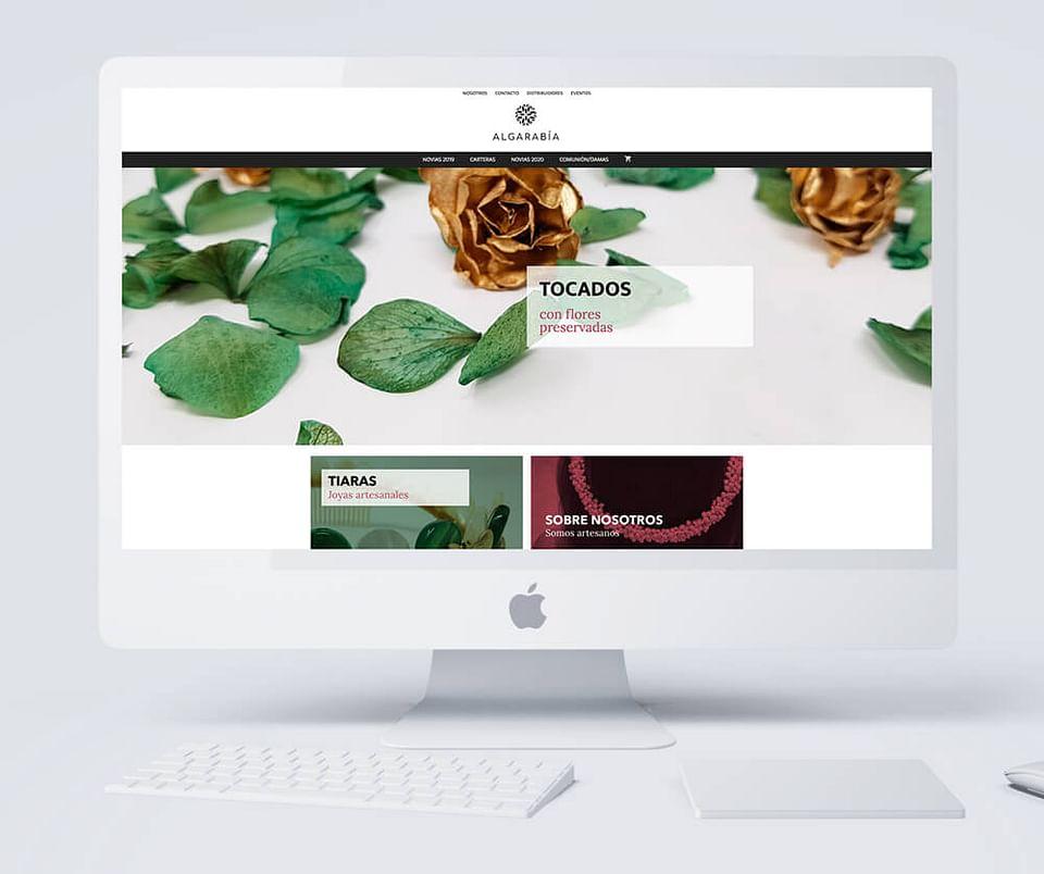 Algarabía, diseño de tienda online