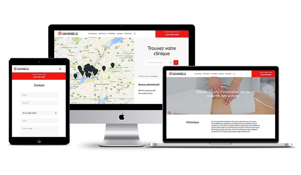 Développement de site web et marketing web