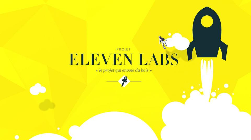 Identité visuelle et site web   Eleven Labs