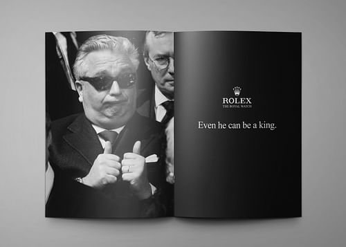 Rolex - Reclame