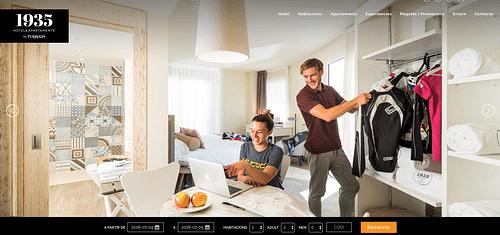 Programación, diseño y estrategia para Hotel - Creación de Sitios Web