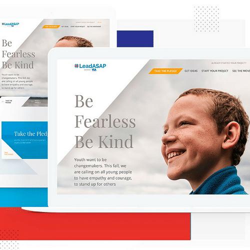 Leading Non Profit YSA - Graphic Design